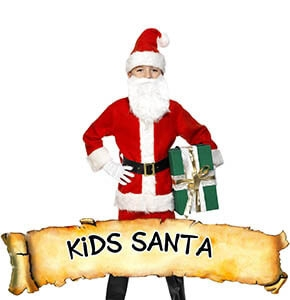Childrens Santa Costumes