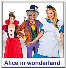 Alice in Wonderland Teacher Costumes