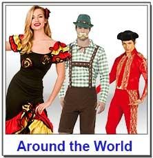 Around the World Teacher Costumes