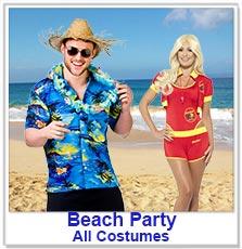 Hawaiian / Beach Party Costumes