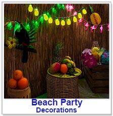 Hawaiian / Beach Party Decorations