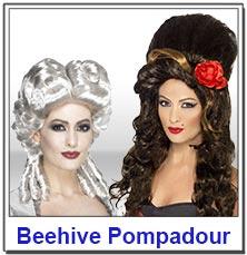Beehive Pompadour Ladies Wigs