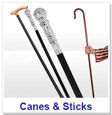 Canes, Crooks & Walking Sticks