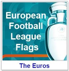 European Football League Flags