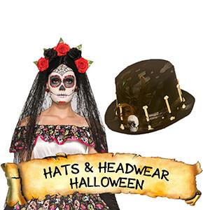 Halloween Hats & Headwear