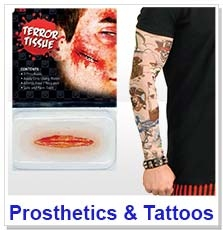 Prosthetics, Scars & Tattoos
