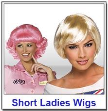 Short Ladies Wigs