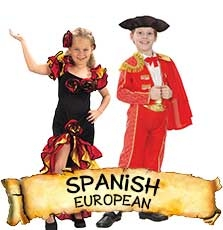 Spanish Costumes & Accessories