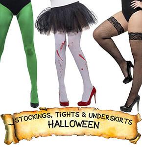 Halloween Stockings, Tights & Underskirts