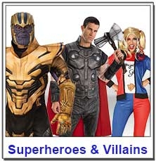 Superhero Teacher Costumes