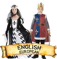 English Costumes & Accessories