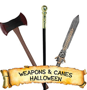 Halloween Weapons & Canes