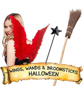 Halloween Wings, Wands & Broomsticks