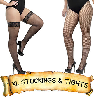 Plus Size -Tights & Stockings