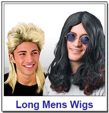 Long Mens Wigs