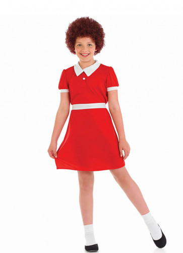 Annie-Violet - Little Orphan Girl Costume