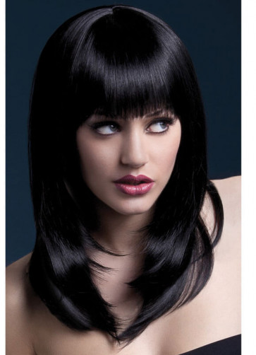 Deluxe Fever Black Tanja Wig - Styleable