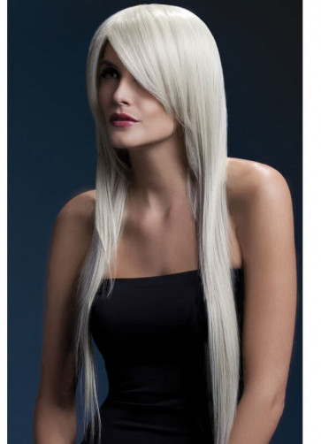 Deluxe Fever Blonde Amber Wig - Styleable