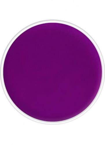 Kryolan UV-Day Glow Aquacolor Make-Up Body Paint - Purple 4ml