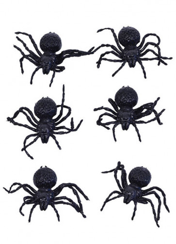 Small Spiders (6 Pack)