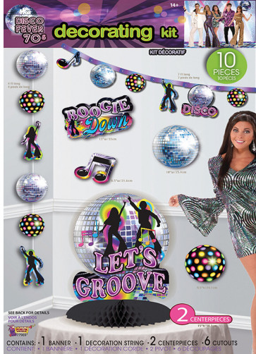 70's Disco Decorating Kit
