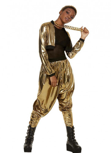 80's MC Hammer Time Ladies Costume