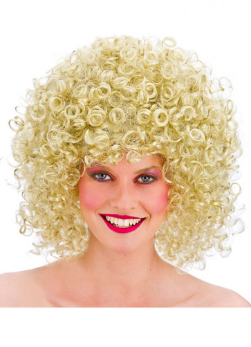 80s Perm Disco Wig (Blonde)