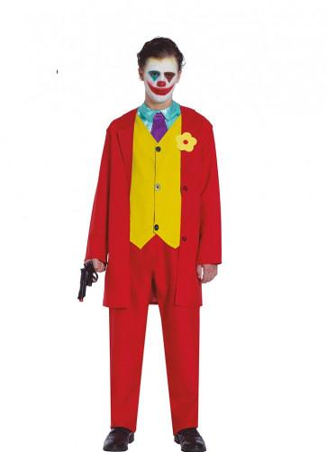 Mr Smile – Red Prankster Suit - Teen