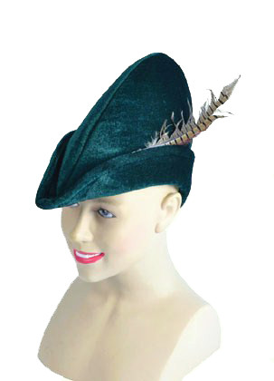 Velvet Robin-Hood / Lost-Boy Hat