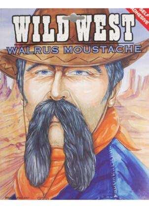 Walrus Moustache Light Brown
