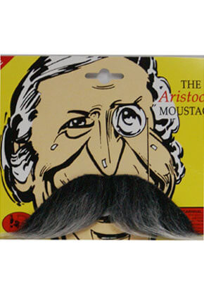 Aristocrat Moustache (Grey)