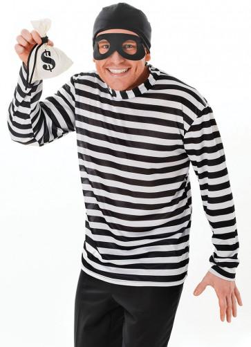 Burglar/Bank Robber Costume Kit