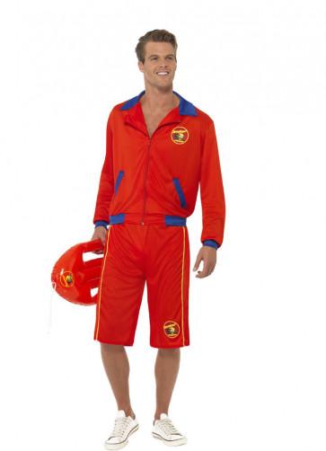 Baywatch Lifeguard Costume - Long Shorts