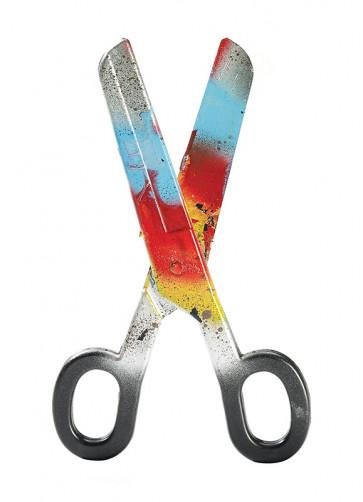 Bloody Clown Scissors (Giant-40 cm)