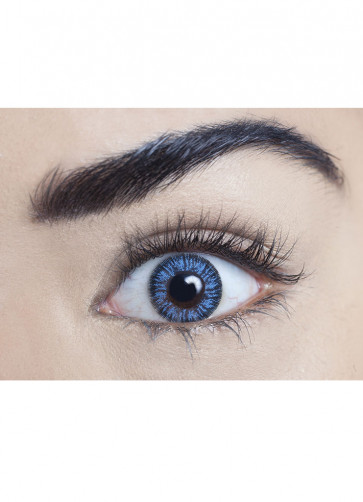 Blue Coloured Contact Lenses - 30 Day Wear