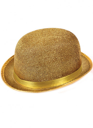 Bowler Hat Gold
