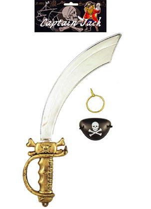 Captain Jack Sword Set 3pcs