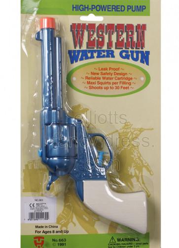 Cowboy Water Pistol Gun 25cm
