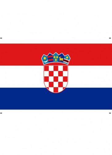 Croatian (Croatia) Flag 5ftx3ft