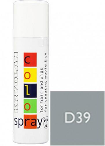 Kryolan Color Hair Spray - Pearl Grey D39
