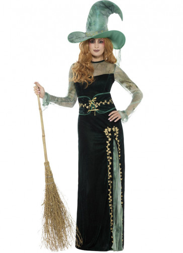 Velvet Emerald Witch