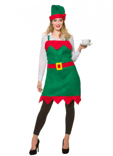 Elf Apron and Hat