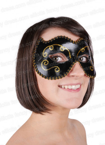 Emma Eye Mask Black