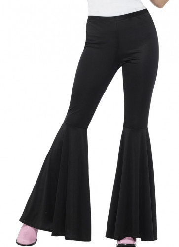 Flared Trousers – Ladies – Black