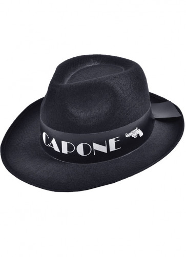 Gangster Hat Black Al Capone