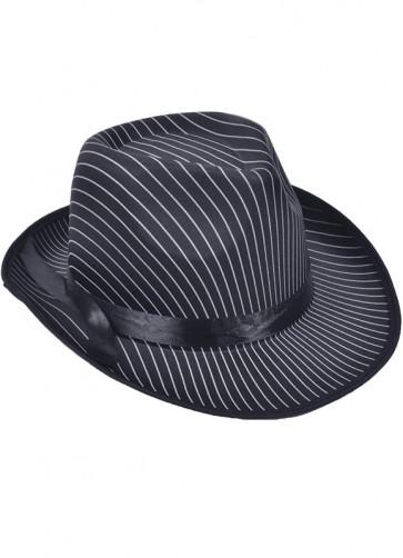 Gangster Hat (Striped)