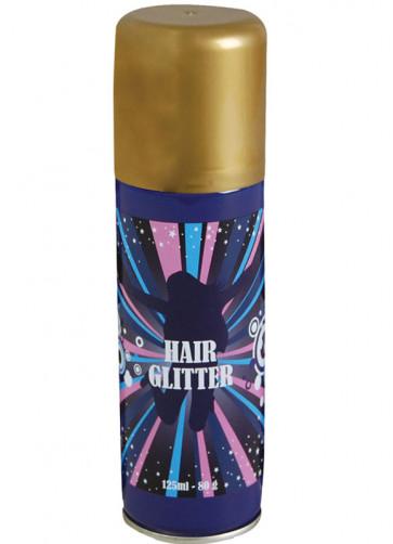 Glitter Hair Spray - Gold