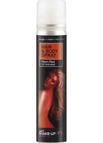 Hair and Body Spray - Red UV