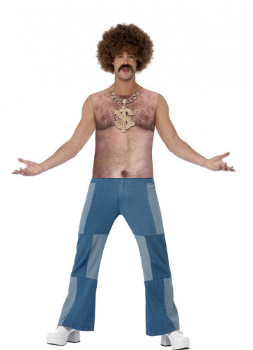 1970's Hairy Chest Top