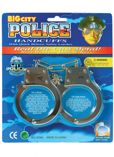 Metal Handcuffs - Heavyweight